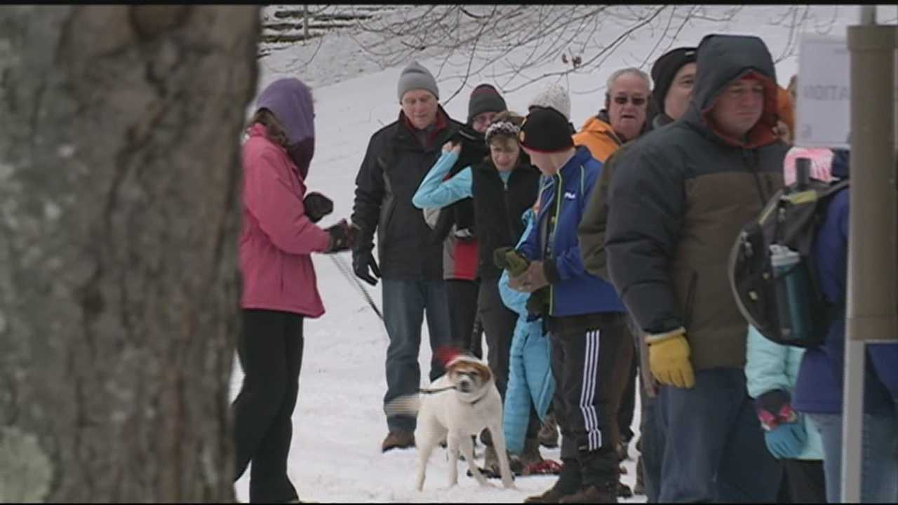 Some New Hampshire residents began 2016 with some exercise by taking one of four free, guided hikes being offered in state parks as part of a national program.