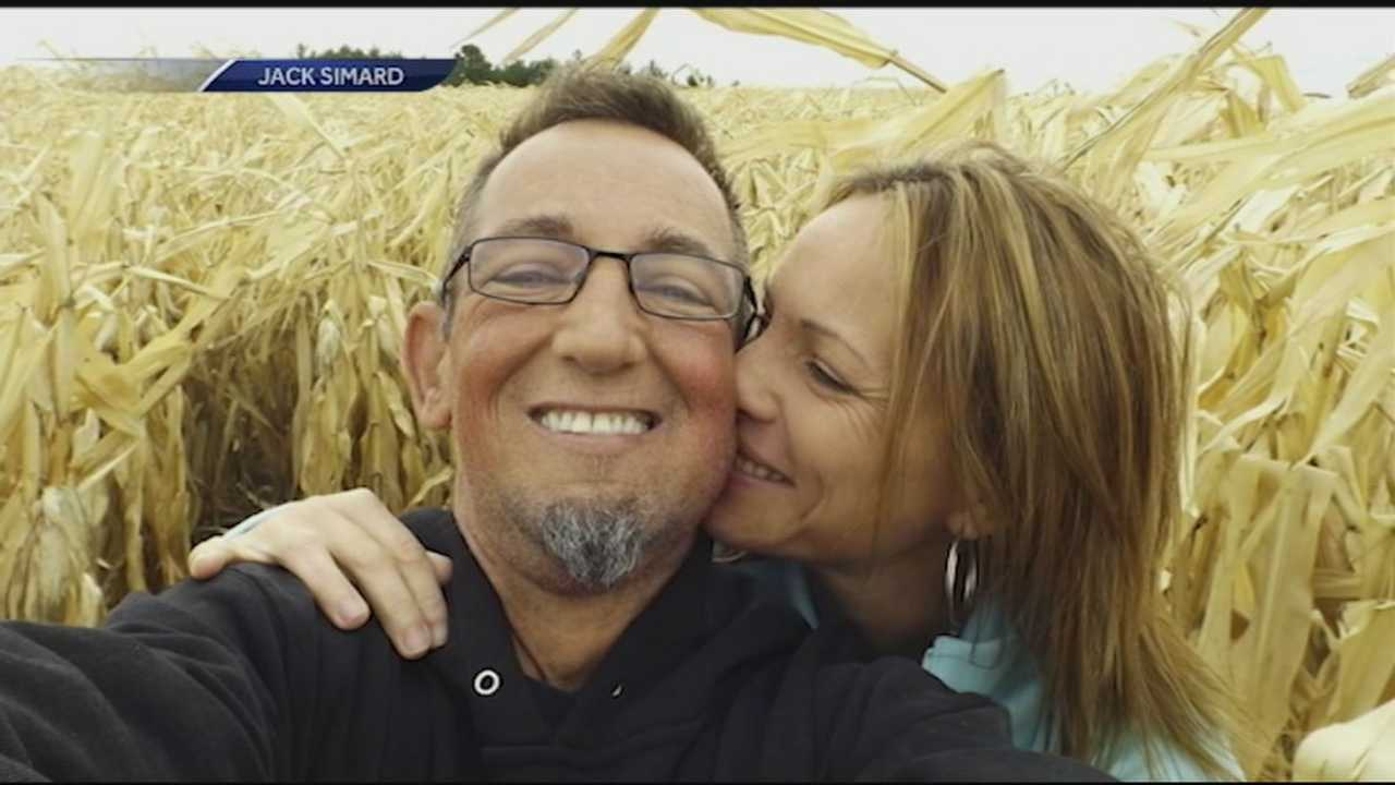 A Goffstown man in need of a kidney transplant finds out his girlfriend is the perfect match.
