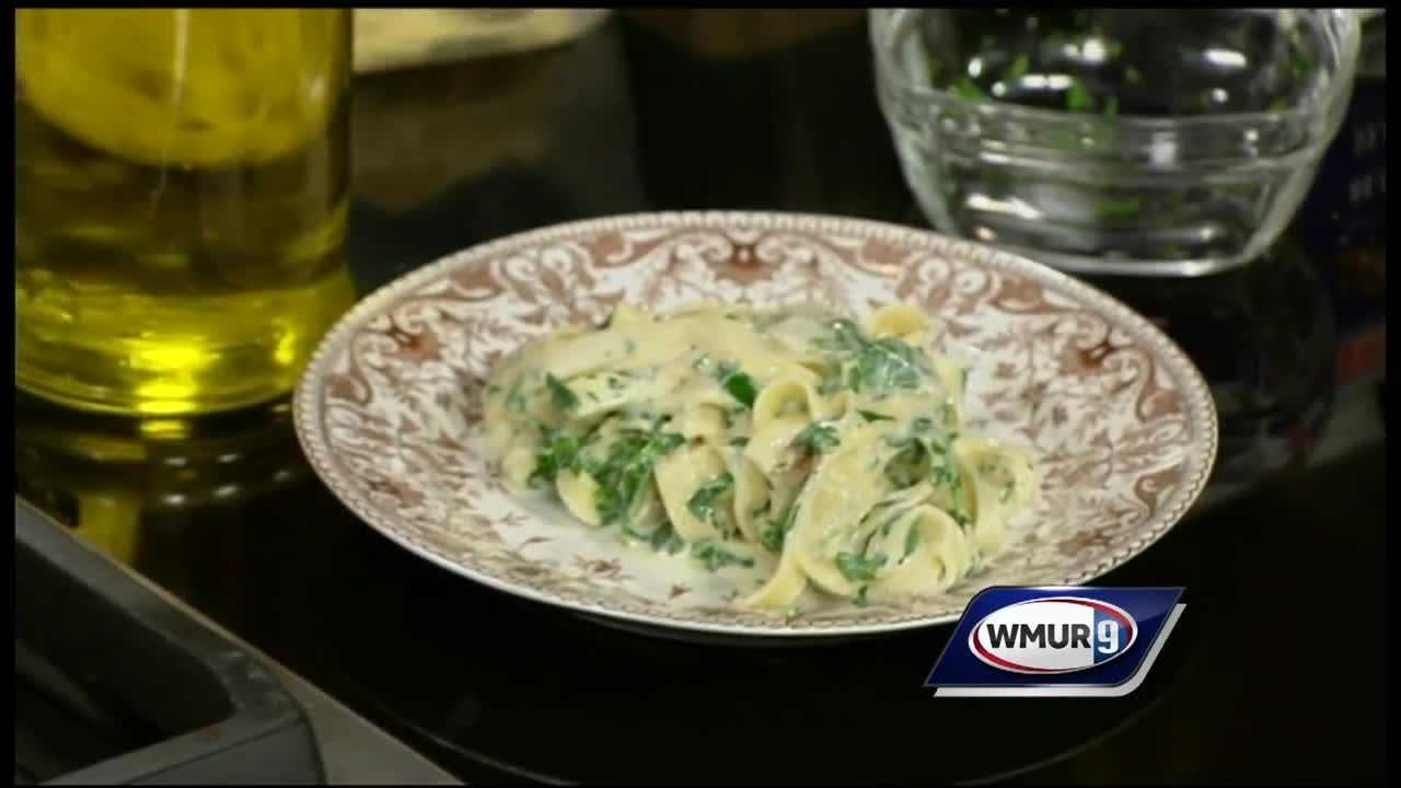 Herb Alfredo from Liz Barbour of The Creative Feast