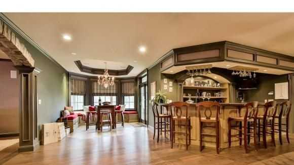 Mansion monday bedford home has wine cellar home theater for 5 champagne terrace bedford nh