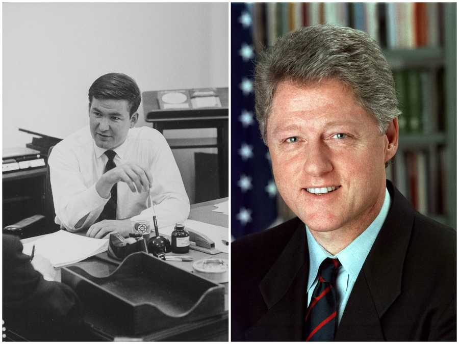 1996 NH Primary winners: Republican Pat Buchannan (left) and Democratic President Bill Clinton (right)Clinton won the Democratic Party's nomination and a second-term in office. Buchannan did not get the Republican Party's nomination.