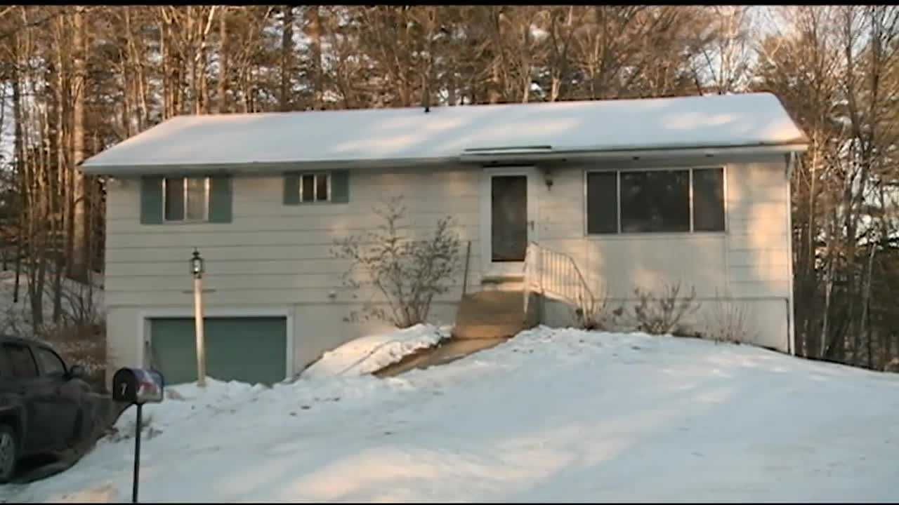 A couple from Hooksett said they are thankful, even though a fire forced them from their home Tuesday morning.