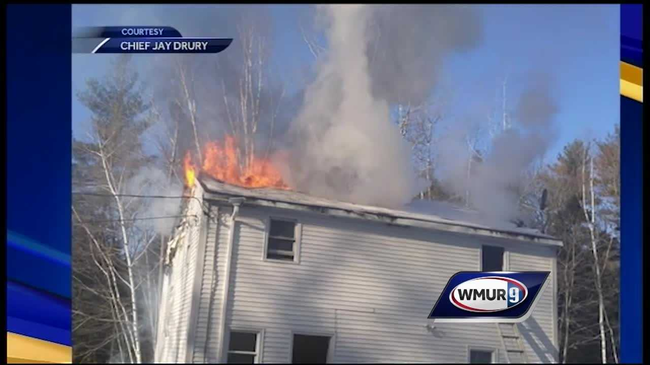 A man was killed Tuesday morning in a fire at a house in Farmington.
