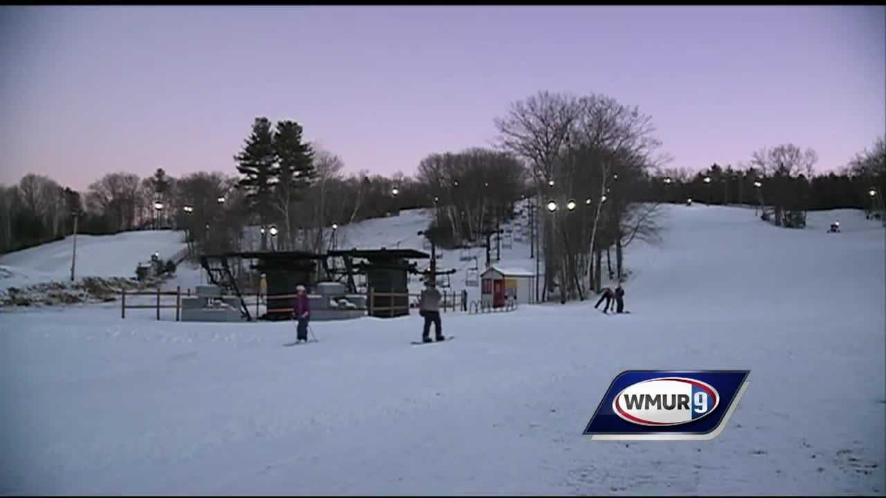 Chief Meteorologist Mike Haddad is at McIntyre Ski Area in Manchester, which is open to the public.