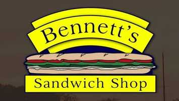 11 tie. Bennett's Sandwich Shop in Portsmouth and Kennebunk, Maine
