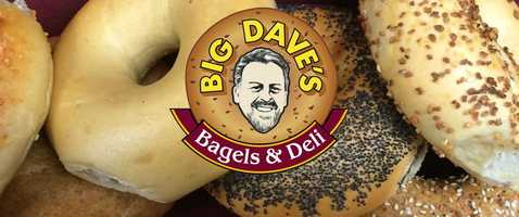 6. Big Dave's Bagels & Deli in North Conway
