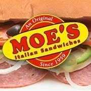 7 tie. Moe's Italian Sandwiches with multiple locations