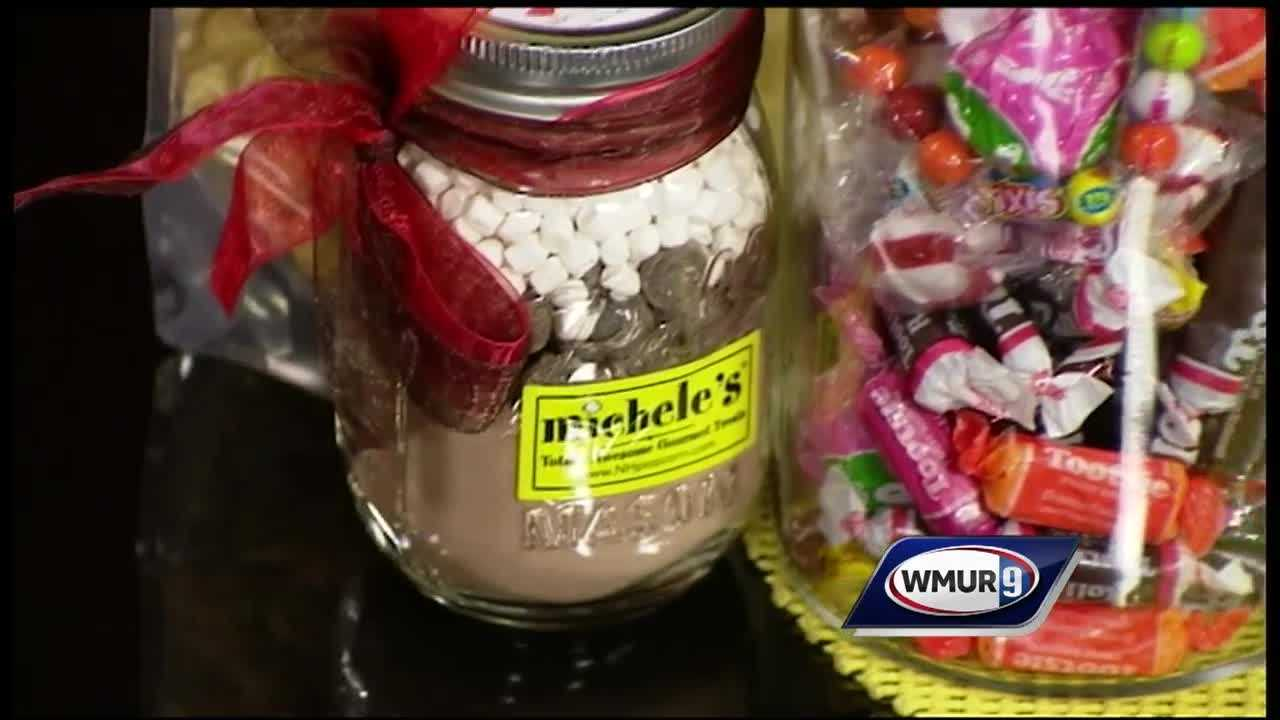 WMUR's Sean McDonald speaks with Michele Holbrook from Michele's Gourmet Popcorn and Sweet Shoppe