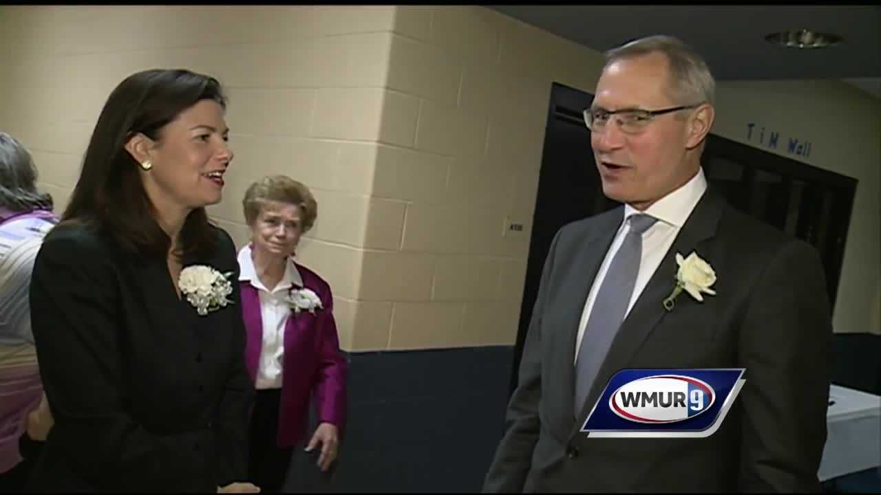 The Inauguration for Nashua's new but old mayor was held today.