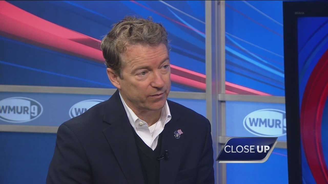 Republican presidential candidate Rand Paul sits down with Sean McDonald on CloseUP.