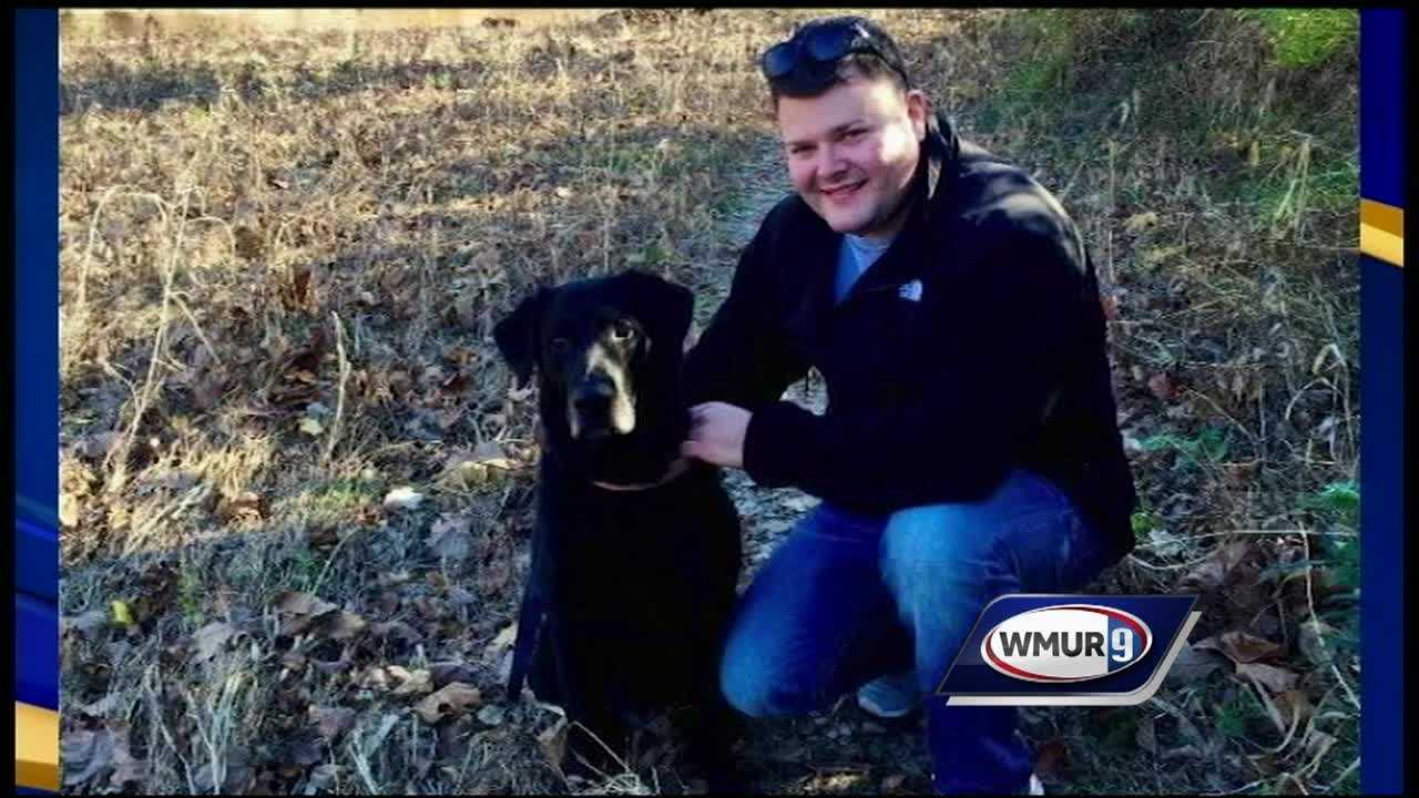 A couple in Berlin are raising money to help a Philadelphia police officer who was shot and seriously wounded in his patrol car last week.