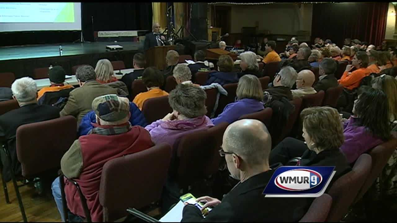 Northern Pass holds meeting addressing Franklin residents' concerns