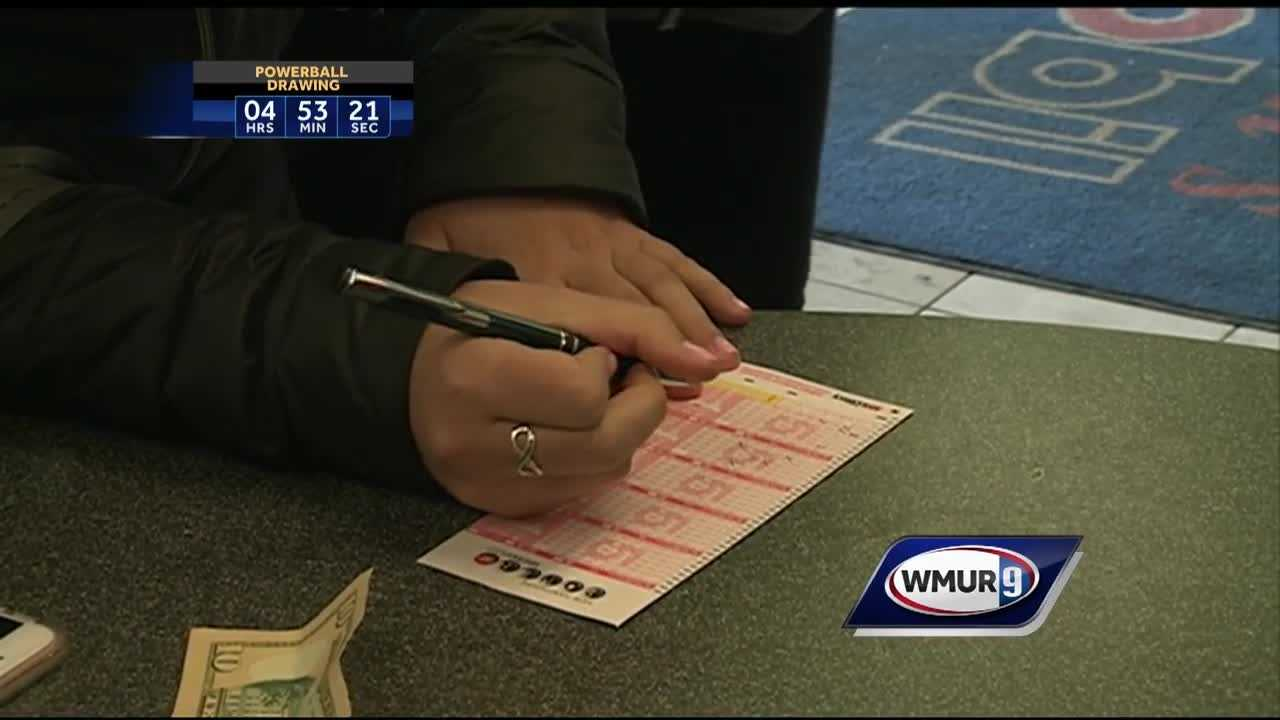 Granite Staters were dreaming big Wednesday as they bought tickets for a record-breaking Powerball jackpot.