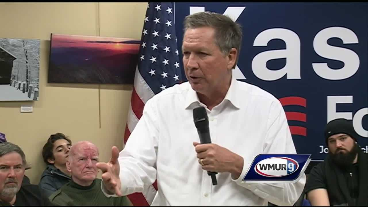 Republican presidential candidate Gov. John Kasich got a boost to his campaign Friday when he picked up the endorsements of Fosters' Daily Democrat and the Portsmouth Herald.