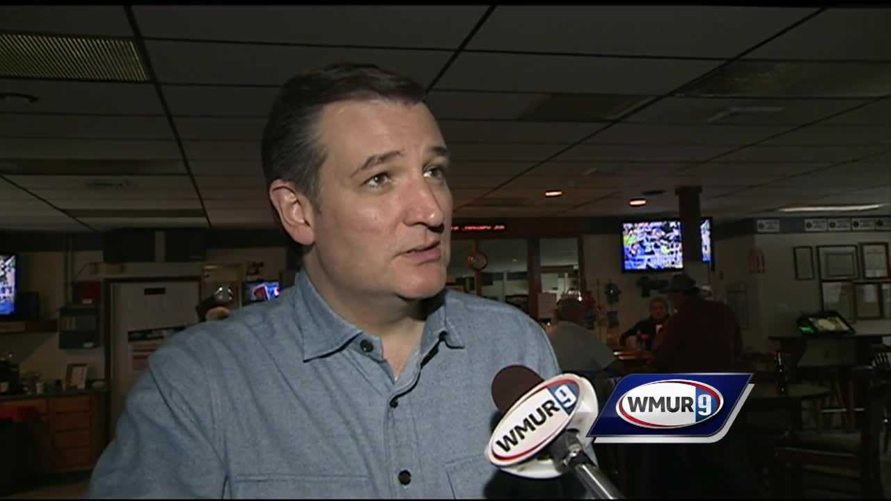 Republican presidential candidate Ted Cruz is keeping his momentum in the polls rolling with a five-day bus tour through the Granite State.