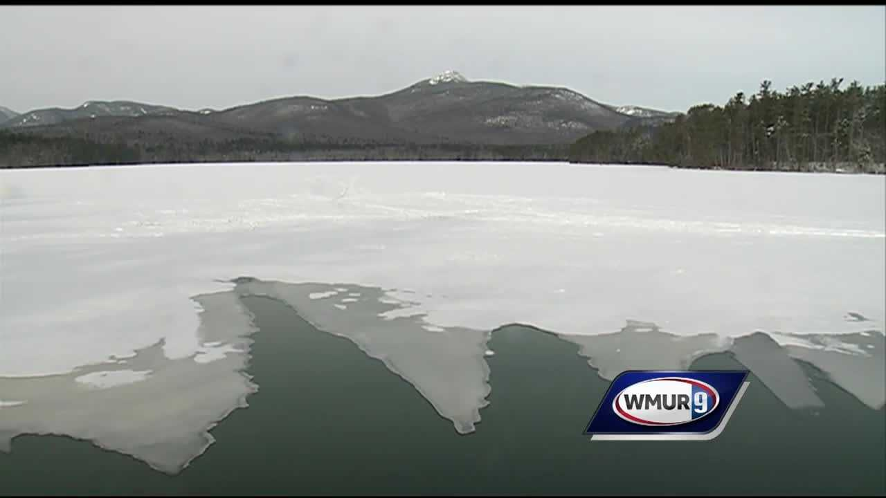 The lack of ice on New Hampshire lakes is affecting local business and recreation.