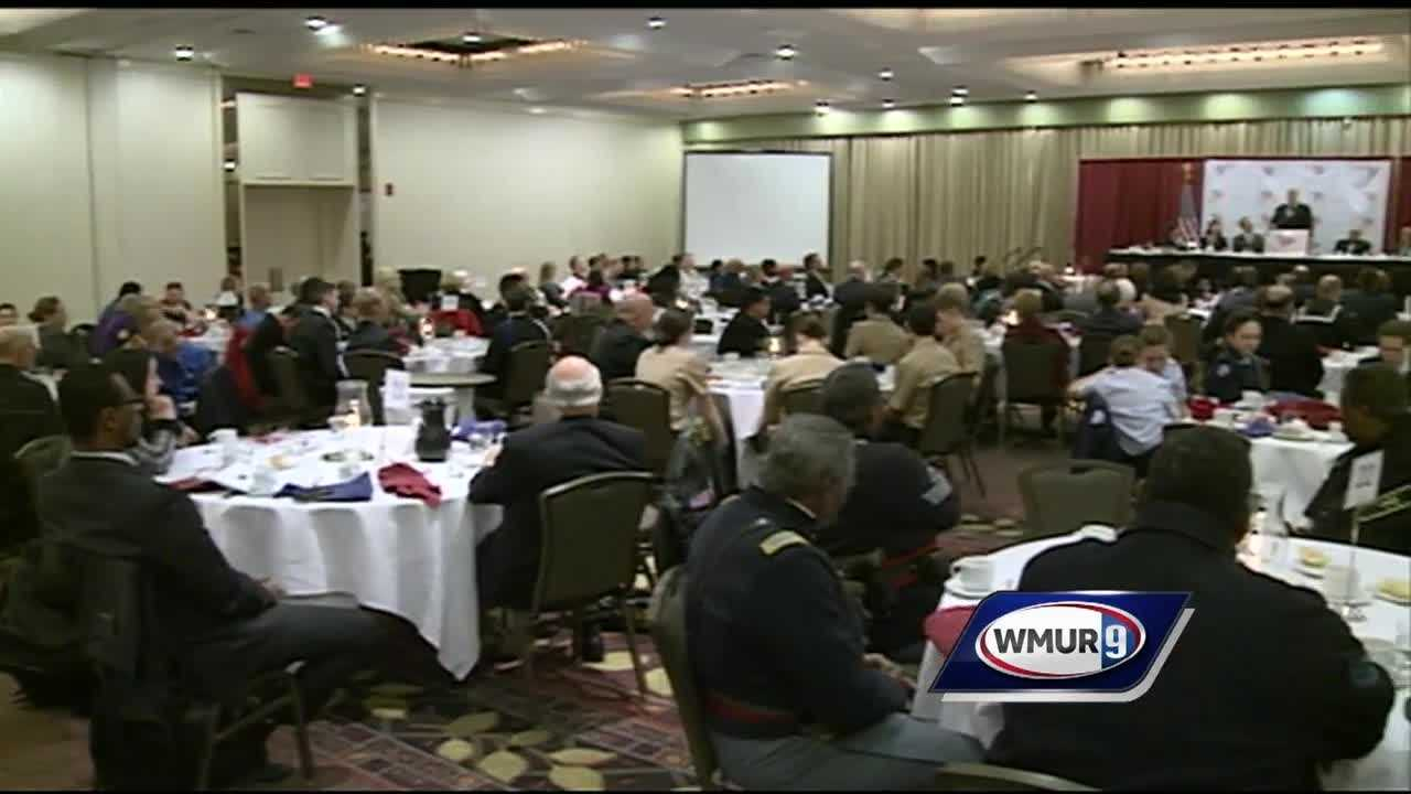 Dinner held to honor MLK Jr.'s dream dedicated to those who serve in law enforcement and military.