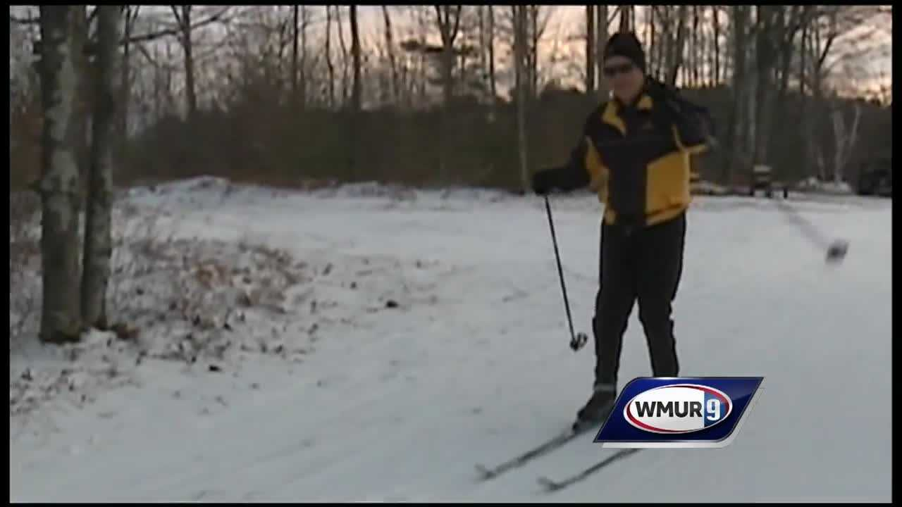Chief Meteorologist Mike Haddad to check out the cross-country trails at Windblown.