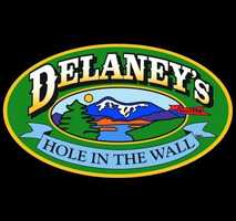 11 tie. Delaney's Hole in the Wall in North Conway