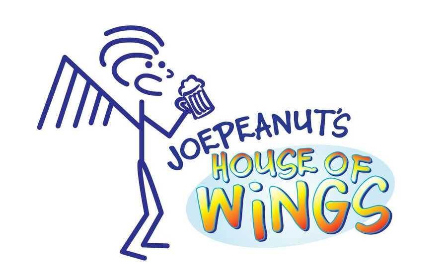 1. Joepeanuts House of Wings in Keene