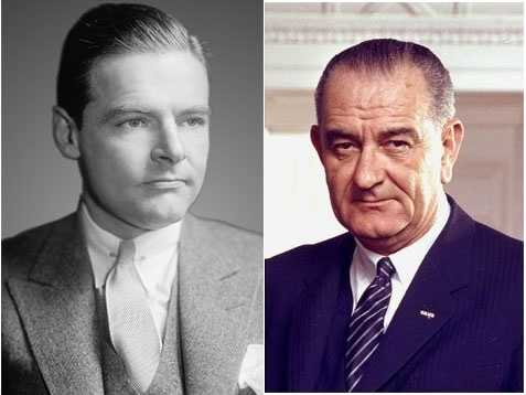 1964 NH Primary winners: Republican Ambassador Henry Cabot Lodge, Jr. (left) and Democratic President Lyndon B. Johnson (right)Lodge's son and friends helped him win the primary by successfully launching a write-in campaign&#x3B; however, President Johnson ended up winning the presidency. He faced no other New Hampshire Primary ballot opponent as the election occurred soon after the assassination of Kennedy.