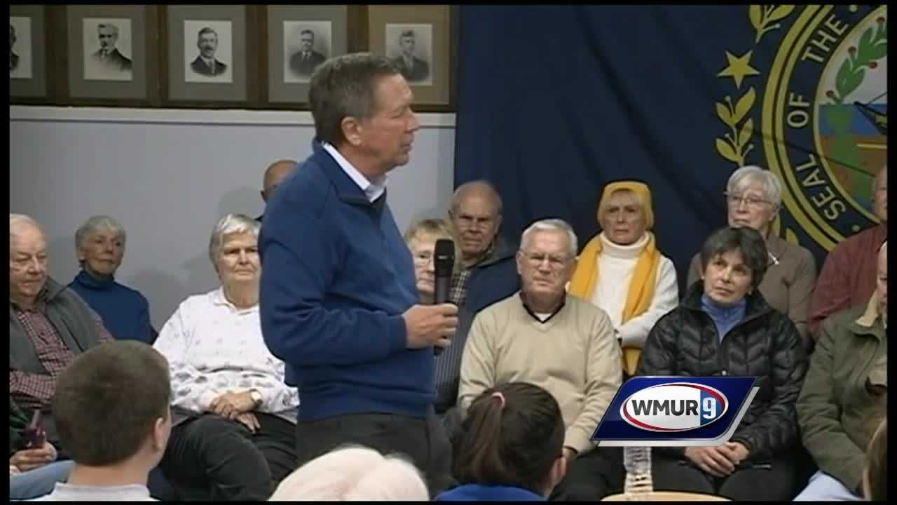 Both Senator Bernie Sanders and Ohio Governor John Kasich host town halls in Wolfeboro Thursday.