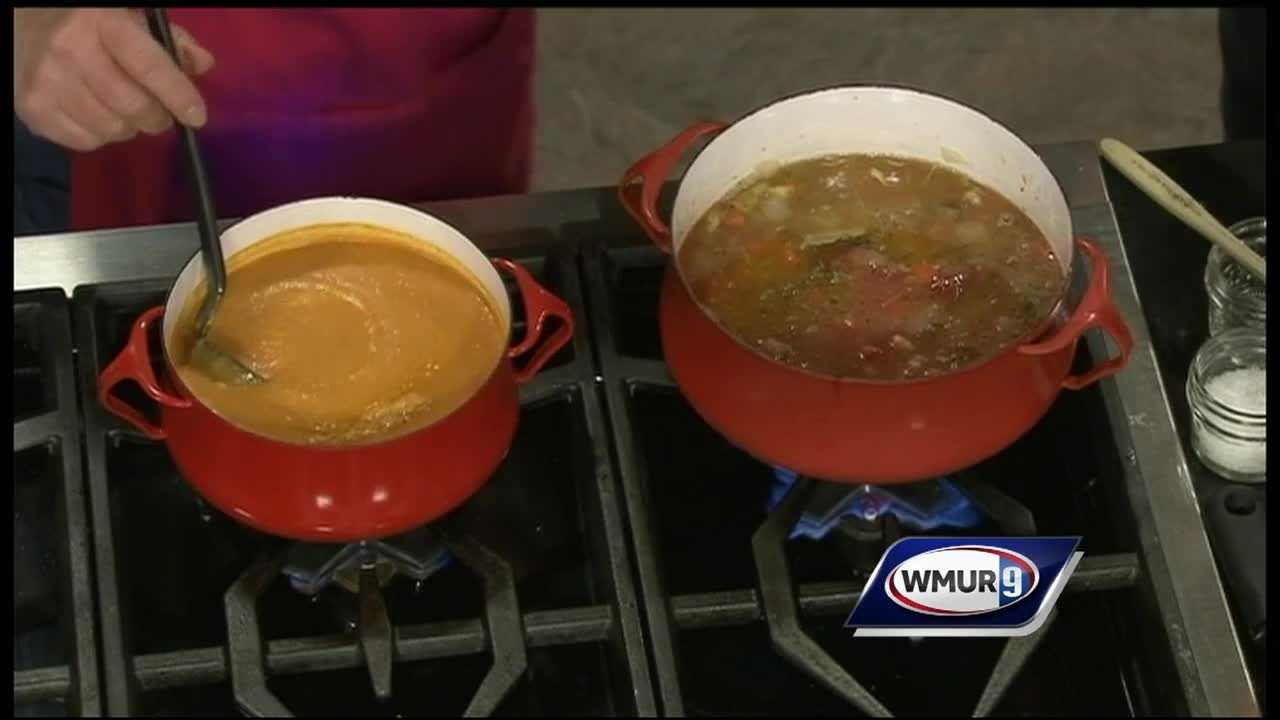 Susan Nye of Around the Table shows how to make a classic tomato soup.