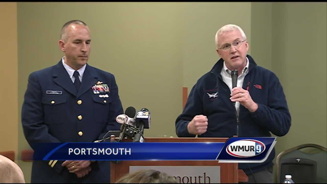 Two survivors of a fiery crash at Hampton airfield return to Portsmouth to thank the responders and doctors who saved their lives.