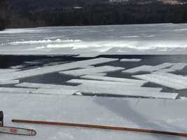 It's a tradition that is playing out again on the frozen waters of Squam Lake: the annual Ice Harvest.