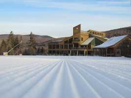 2 tie. Bretton Woods in Carroll