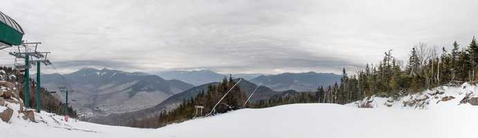 2 tie. Loon Mountain Resort in Lincoln