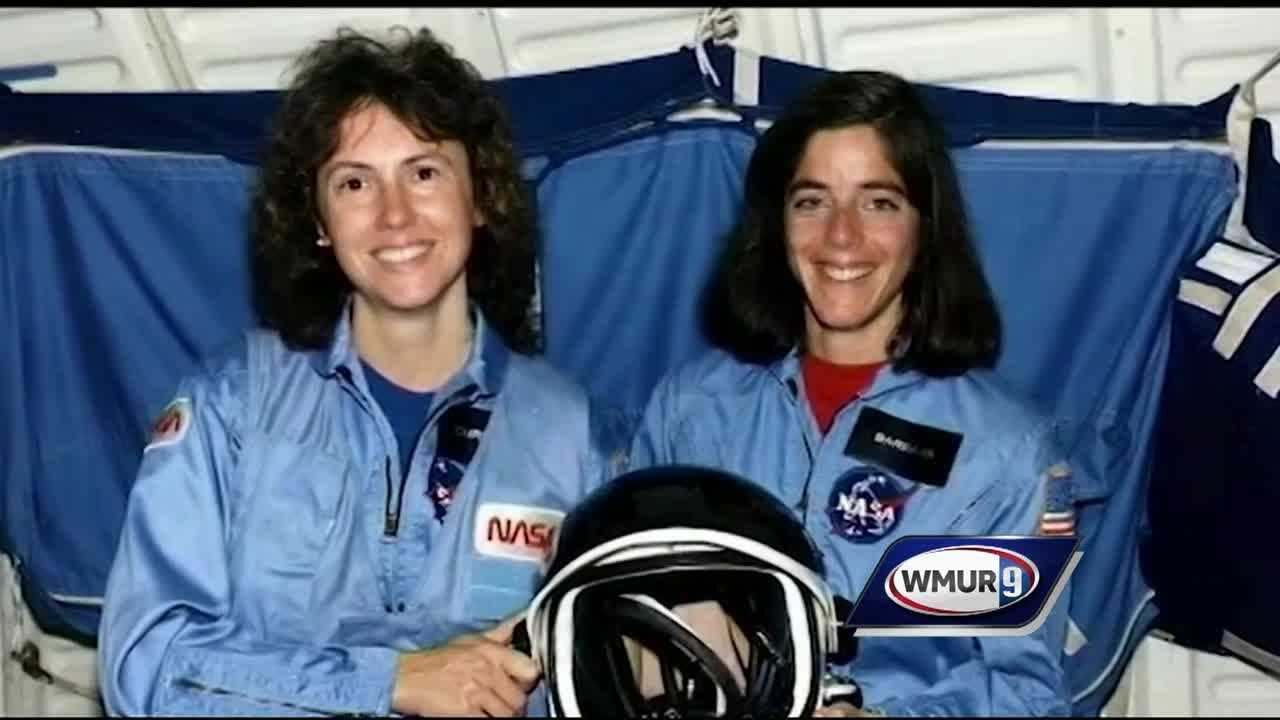 Tribute ceremony held to honor Christa Mcauliffe on the 30th anniversary of the Challenger explosion.
