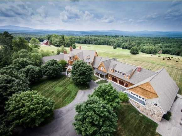 Summit Meadow Farm on Sand Hill Road in Peterborough is on the market for $4,900,000.
