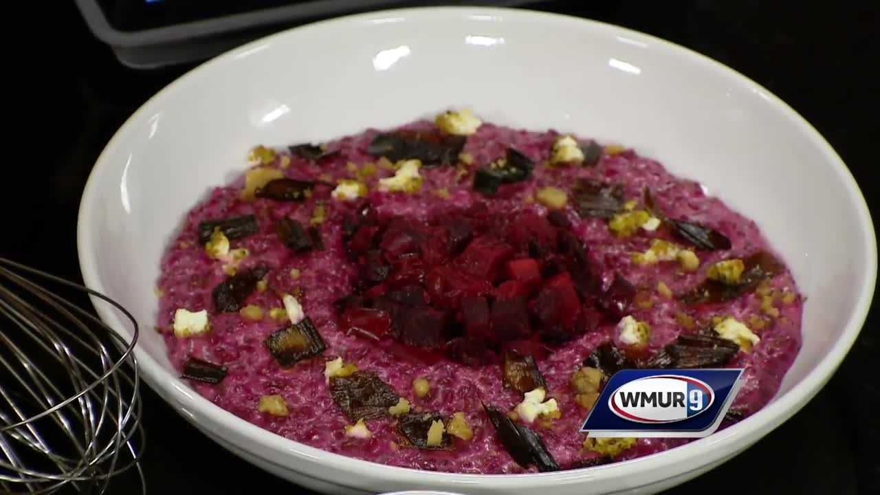 Tyler MacDonald of the Oak Room shows how to make this twist on risotto.