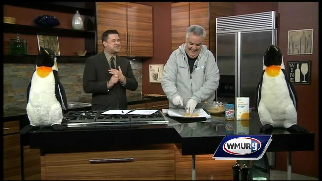 Mark Ericson from WOKQ shows us how to make easy three-ingredient cookies