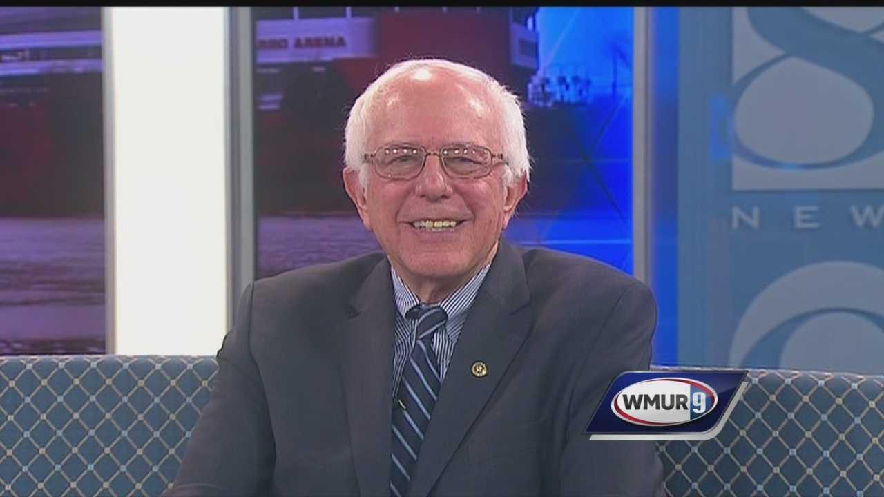 Democratic presidential candidate Bernie Sanders speaks with Josh McElveen in CloseUP.