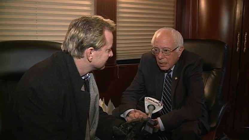 In an exclusive interview with WMUR Political Director Josh McElveen, Bernie Sanders said he thinks his campaign has done well -- especially when considering where it started.