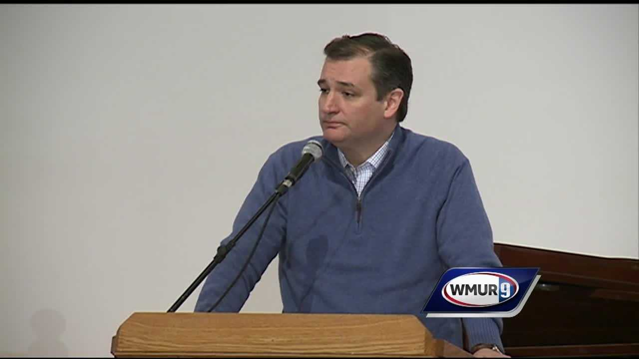U.S. Sen. Ted Cruz took on an issue that's affecting New Hampshire particularly hard -- drug and alcohol addiction.