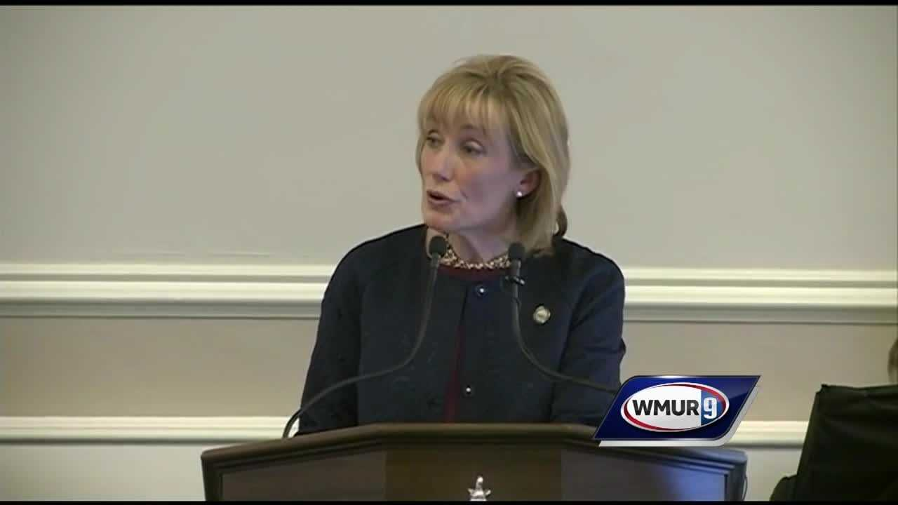 Gov. Maggie Hassan called on lawmakers Thursday to reauthorize Medicaid expansion to help address the heroin crisis and announced a new job-training program during her State of the State address.