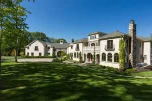 The estate features a spa, sauna and new horse barn.