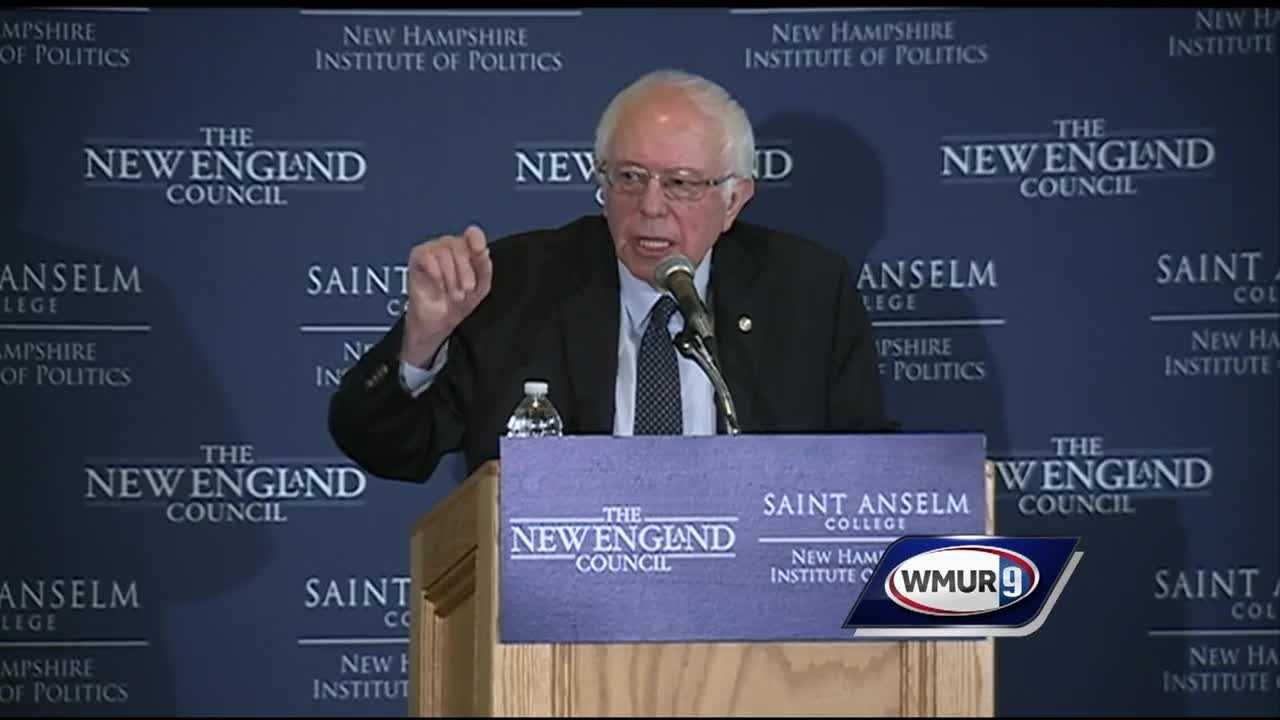 Democratic presidential candidate U.S. Sen. Bernie Sanders held several events Friday in New Hampshire, with the primary days away.