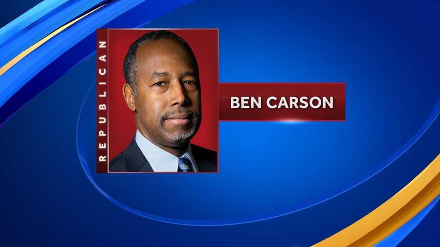 View Ben Carson's bio.