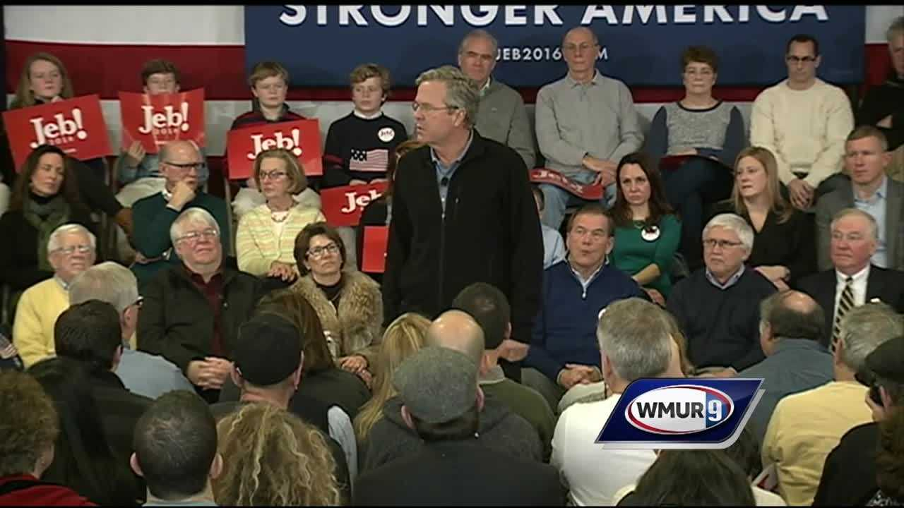 Seven of the Republican presidential candidates were set to take the stage at St. Anselm College on Saturday for the final debate before Tuesday's New Hampshire primary.