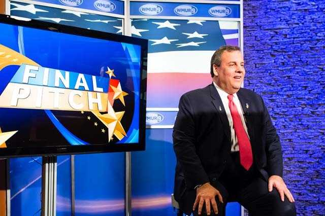 New Jersey Gov. Chris Christie came to WMUR to deliver his final pitch to voters before the first-in-the-nation primary.