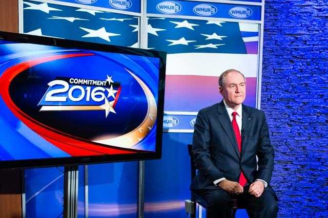 Former Virginia Gov. Jim Gilmore came to WMUR to deliver his final pitch to voters before the first-in-the-nation primary.
