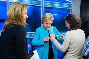 Former Secretary of State Hillary Clinton came to WMUR to deliver her final pitch to voters before the first-in-the-nation primary.