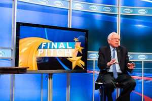 Vermont Sen. Bernie Sanders came to WMUR to deliver his final pitch to voters before the first-in-the-nation primary.