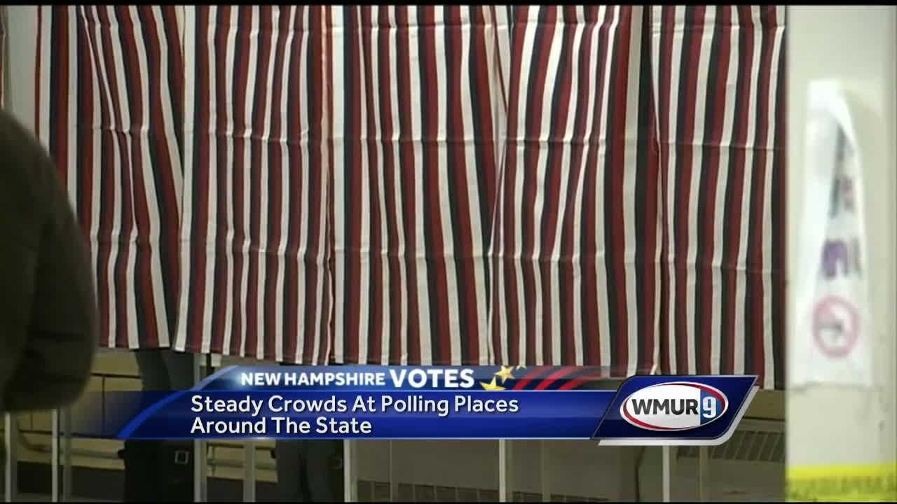 Polling locations across the state were packed for Primary Day.