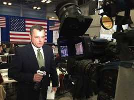 Reporter Andy Hershberger reports from the Jeb Bush celebration party in Concord.