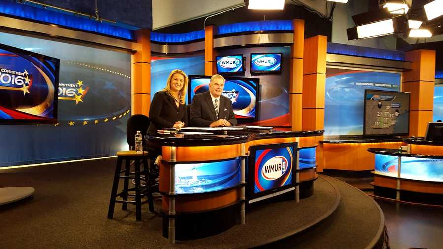 Anchors Tom Griffith and Jen Vaughn work the desk during our live Primary coverage.